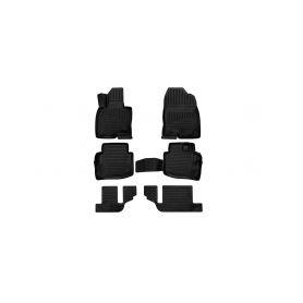 SIXTOL 3D Gumové koberce MAZDA CX-9, 2017-, SUV, 6ks SIXTOL