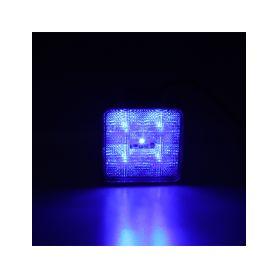 KF717BLU Výstražné LED světlo vnější, modré, 12/24V Vnější ostatní
