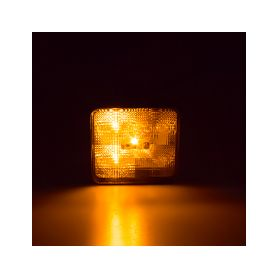 KF717ORA Výstražné LED světlo vnější, oranžové, 12V Vnější ostatní
