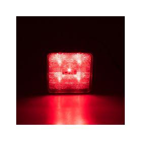 Výstražné LED světlo vnější, červené, 12/24V