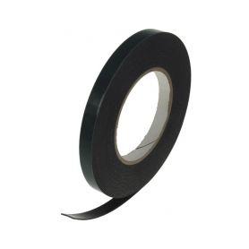 WT316 Oboustranná lepící páska černá, 12mmx10m Samolepící pásky a hmoty