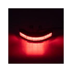 KF187RED Výstražné LED světlo vnější, 12-24V, 12x3W, červené, ECE R10 Vnější ostatní