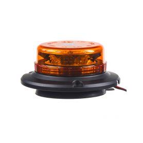 WL140 LED maják, 12-24V, 12x3W oranžový, magnet, ECE R65 LED magnetické