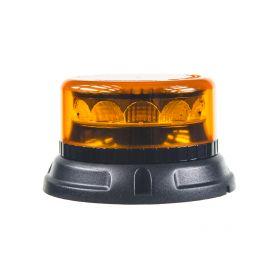 911-C12F PROFI LED maják 12-24V 12x3W oranžový 133x76mm, ECE R65 LED pevná montáž