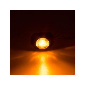 PROFI výstražné LED světlo vnější, 12-24V, oranžové, ECE R65