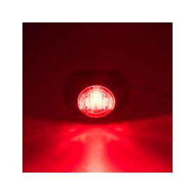 911-P3RED PROFI výstražné LED světlo vnější, 12-24V, červené Vnější ostatní