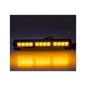 KF756-3 LED světelná alej, 12x LED 3W, oranžová 360mm, ECE R65 Vnitřní