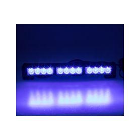 KF756-3BLU LED světelná alej, 12x LED 3W, modrá 360mm, ECE R10 Vnitřní