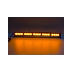 LED světelná alej, 20x LED 3W, oranžová 580mm, ECE R65