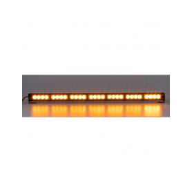 KF756-7 LED světelná alej, 28x LED 3W, oranžová 800mm, ECE R65 Vnitřní