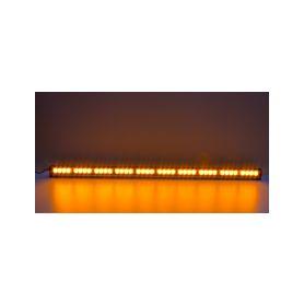 KF756-10 LED světelná alej, 40x LED 3W, oranžová 1210mm, ECE R65 Vnitřní