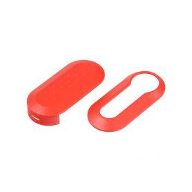 48FA112RED Náhr. obal klíče pro Fiat, 3-tlačítkový červený OEM obaly klíčů