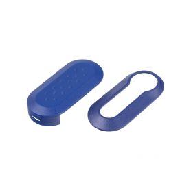 Náhr. obal klíče pro Fiat, 3-tlačítkový modrý