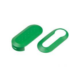 48FA112GRE Náhr. obal klíče pro Fiat, 3-tlačítkový zelený OEM obaly klíčů