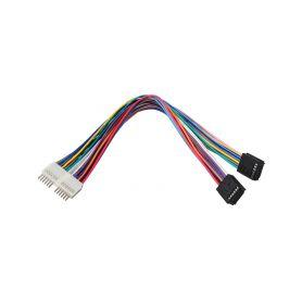 32508A Prodlužovací kabel 24 pól MOST/MOST bez krytek ISO/RCA redukce