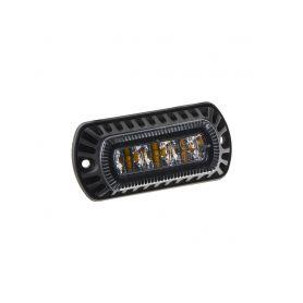 CarClever PROFI výstražné LED světlo vnější, modré, 12-24V, ECE R65 1-911-x6blu