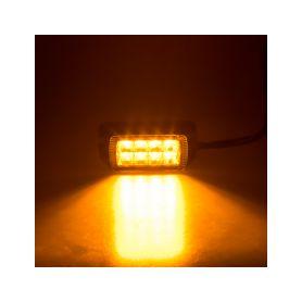 911-623 PROFI výstražné LED světlo vnější, oranžové, 12-24V, ECE R65 Vnější s ECE R65