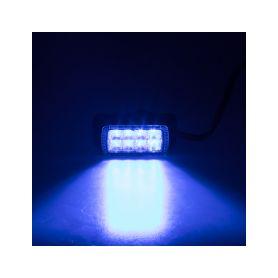 911-623BLU PROFI výstražné LED světlo vnější, modré, 12-24V, ECE R65 Vnější s ECE R65