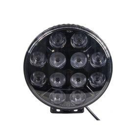 WLD1210E LED světlo kulaté, 12x10W, ø218mm, ECE R7/R10/R112 Halogenová + HID světla