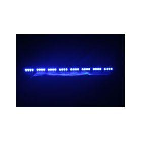 KF758-8BLU LED alej voděodolná (IP66) 12-24V, 32x LED 1W, modrá 955mm Voděodolné