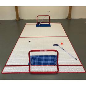 Nisaplast umělý povrch 2,5x4,6m - hokej, florbal Umělé povrchy