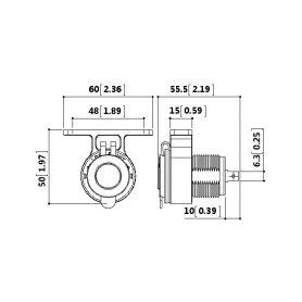 LED pásky  1-lft45w LFT45w LED pásek s 171LED/335SMD bílý 12V, 45cm