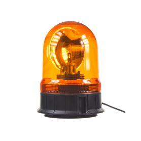 WL87H1 Halogen maják, 12 i 24V, oranžový magnet, ECE R65 Rotační