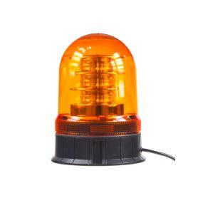 WL87FIX LED maják, 12-24V, 18x3W, oranžový fix, ECE R65 LED pevná montáž