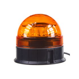 LED maják, 12-24V, 12x3W, oranžový fix, ECE R65 1-wl85fix