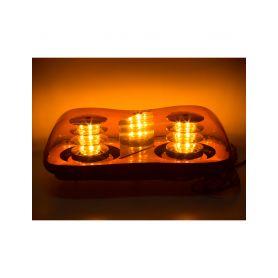 SRE2-231FIX LED rampa oranžová, 36LEDx3W, fix, 12-24V, 419mm, ECE R65 R10 Malé pevná montáž