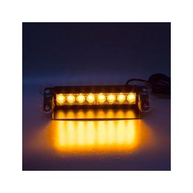 KF750-2 PREDATOR LED vnitřní, 8x3W, 12-24V, oranžový, 240mm Vnitřní