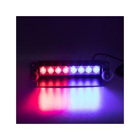 KF750-2BLRE PREDATOR LED vnitřní, 8x3W, 12-24V, červeno-modrý, 240mm Vnitřní