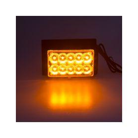 PREDATOR dual 10x1W LED, 12-24V, oranžový