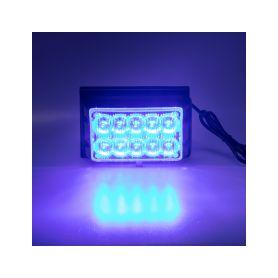 PREDATOR dual 10x1W LED, 12-24V, modrý