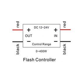 Stualarm LED žárovka BA15S 24V se signalizací couvání Bi-Bi-Bi... 1-kf10led-24v