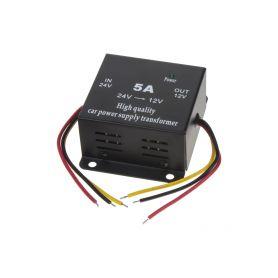 34105ACC Lineární měnič napětí 24/12, 5A s ACC kabelem Měniče z 24V na 12V