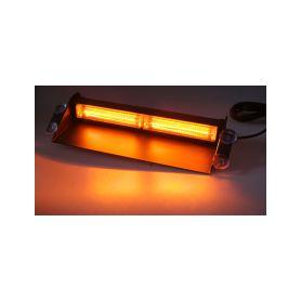 Majáky  1-911-36f 911-36f PROFI LED maják 12-24V 36x1W oranžový ECE R65 130x100 mm