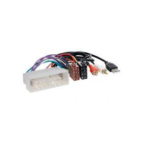 21543USB Konektor ISO Hyundai/Kia 2017- + USB & AUX konektor OEM/ISO adaptéry