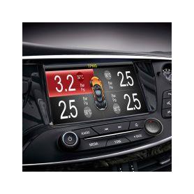TPMS-K6 TPMS kontrola tlaku v pneumatice 4 externí čidla s výstupem na monitor Osobní automobily