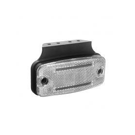 KF665WH Přední obrysové světlo LED, bílý obdélník, ECE R10 Boční obrysová světl + tykadla