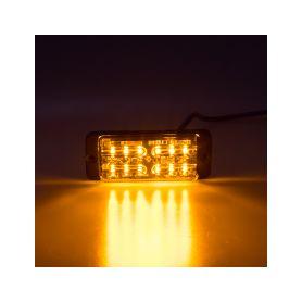 KF703D LINEAR LED dual 12x5W LED, 12-24V, oranžový, ECE R65 Vnější s ECE R65