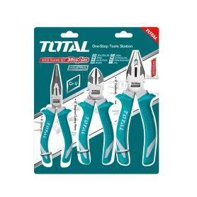 TOTAL-TOOLS THT2K0301 Kleště, sada 3ks, industrial Kombinované