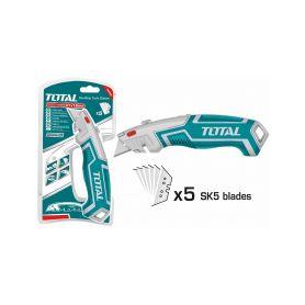 TOTAL-TOOLS THT5116118 Kovový nůž s výměnným břitem, 19mm, industrial Pracovní nože