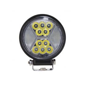 WL429 LED světlo kulaté s pozičním světlem, 24x1W, ø115x140mm, ECE R10 Pracovní světla a rampy