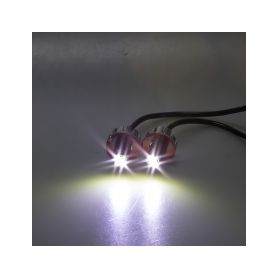 KF707WHT LED stroboskop bílý 2x3W, 12-24V Stroboskopy