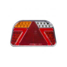 TRL31L Sdružená LED lampa levá zadní s trojúhelníkem 12/24V Zadní + kombinovaná