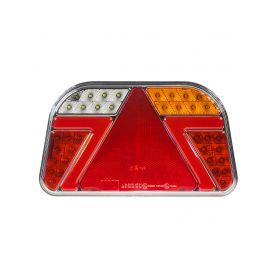 TRL31P Sdružená LED lampa pravá zadní s trojúhelníkem 12/24V Zadní + kombinovaná