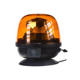 WLBAT73 AKU LED maják, oranžový, magnet, ECE R10, R65 LED magnetické