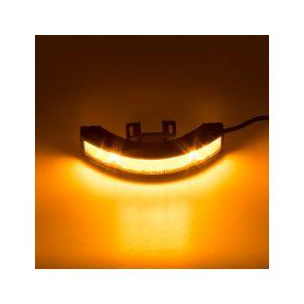Výstražné LED světlo vnější, 12-24V, 12x3W, oranžové, ECE R65 - 1
