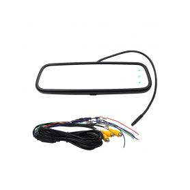 """DS-736AHD AHD LCD monitor 7,36"""" pro montáž na zrcátko Ve zpětném zrcátku"""